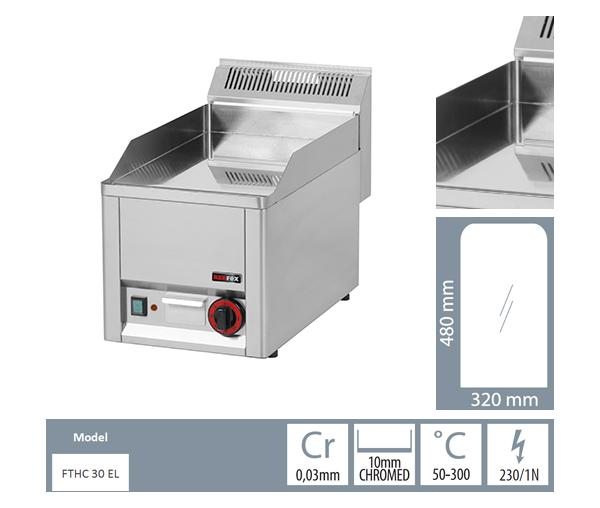 Gratar electric neted fonta cromatic FTHC 30 EL_detalii