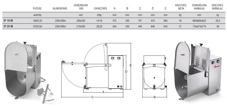 malaxoare-carne-electrice-IP10-20M